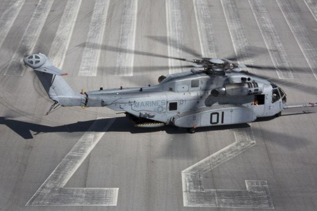 Sikorsky was awarded a $17.9 million contract Thursday for work on theCH-53K King Stallion helicopter, shown here after a test flight in Florida in 2017. Photo by Molly Hampton/U.S. Marine Corps