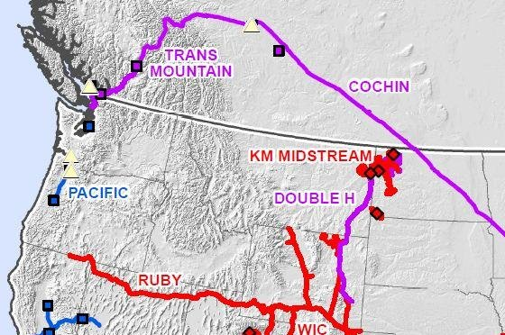 Trans Mountain oil pipeline in Canada short on sauards - UPI.com on keystone pipeline map, cochin pipeline map, seaway pipeline map, proposed pipeline map, express pipeline map, yellowstone pipeline map, puget sound pipeline map,