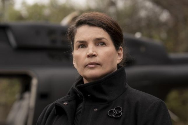 Julia Ormond will be seen in The Walking Dead: World Beyond, which debuts on Sunday. Photo courtesy of AMC