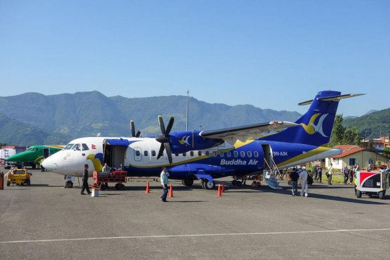 Volo in Nepal atterra nella città sbagliata