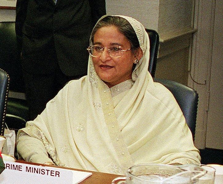 Bangladeshi Prime minister Shiekh Hasina (U.s. dept. of Defense)