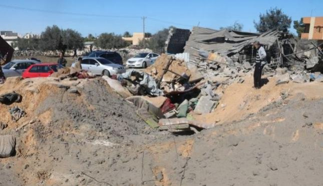 More than 40 people were reported killed by U.S. airstrikes on a suspected Islamic State target in Sabratha, Libya, on Friday. The attack targeted a building that housed foreign workers, and people from several Arabic countries were among the dead and wounded, local media reported. Sabratha Municipal Council alleges the building was rented to non-Libyan nationals known to have links to Islamic State. Weapons were also found in the rubble of the destroyed building, the council said. Photo by Sabratha Municipal Council via Facebook