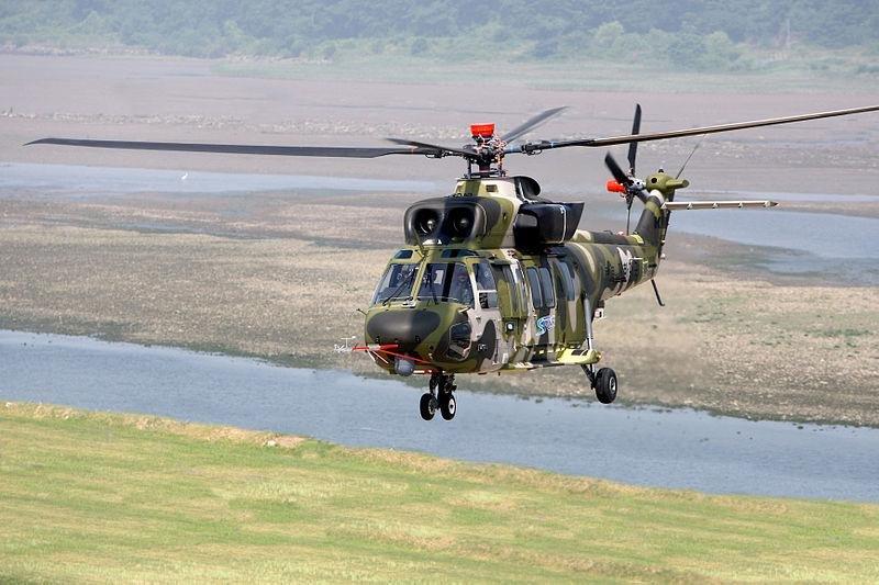 A prototype of South Korea's new Surion helicopter. Photo: Korea Aerospace Industries.