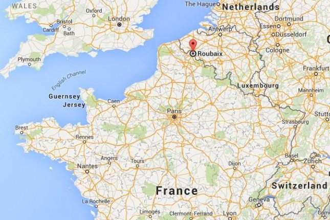 Gunmen took hostages in the northern French town of Roubaix on Nov. 24, 2015, according to reports. Police say the incident is not related to terrorism. Google Maps image