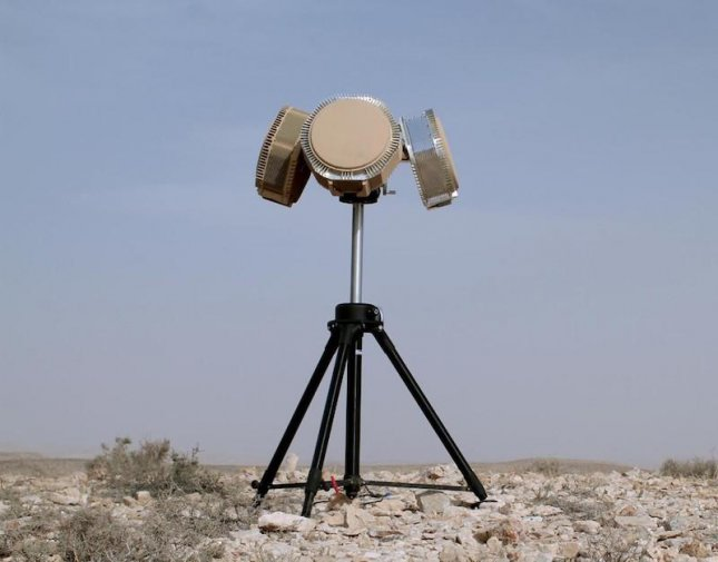 A counter-drone air surveillance radar by RADA Electronics, which have been ordered by the U.S. military, the company said this week. Photo courtesy of RADA