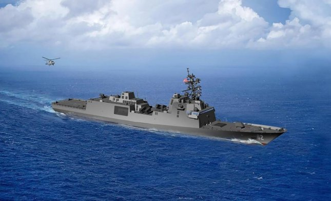 The second of the U.S. Navy's Constellation-class frigates, depicted here in an artist's rendering, will be named the USS Congress, Navy Secretary Kenneth J. Braithwaite announced on Friday. Photo courtesy of U.S. Navy