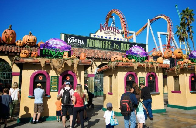 California amusement park Knott's Berry Farm shuttered a new Halloween virtual reality attraction after complaints from mental health advocates. The attraction told the story of a possessed girl in a mental hospital, but some said it reinforced negative stereotypes of the mentally ill. Fans have started an online petition to resurrect the attraction. Photo by Juan Camilo Bernal/Shutterstock