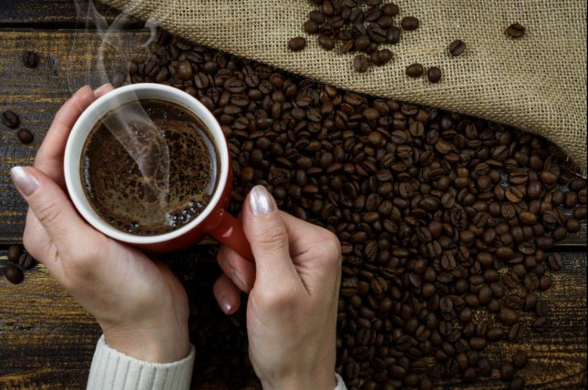 Researchers have found a link between pregnant women consuming at least a moderate amount of caffeine, including coffee, and a child's excess weight gain. Photo by PhotoMIX-Company/pixabay