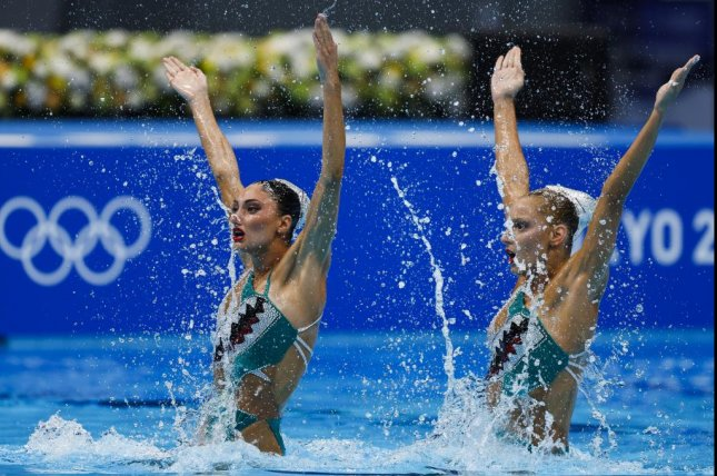Greece's artistic swimming team was forced to withdraw from the Tokyo Olympics and was moved into isolation from the athletes' village due to a cluster of COVID-19 infections. Photo by Patrick B. Kraemer/EPA-EFE