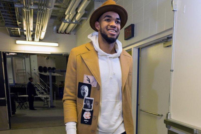 Minnesota Timberwolves center Karl-Anthony Towns. Photo courtesy of the Minnesota Timberwolves/Instagram
