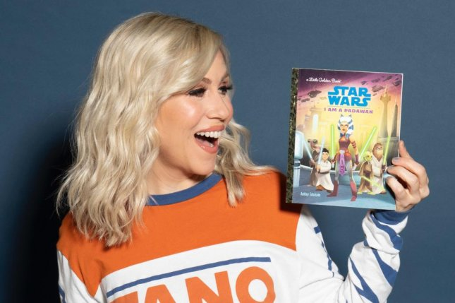 Ashley Eckstein, the voice actress behind Ahsoka Tano in Star Wars: The Clone Wars, has penned a new children's book featuring her character, titled I Am a Padawan. Photo courtesy of Ashley Eckstein