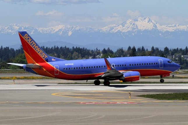 A Southwest Airlines plane on the runway at Seattle-Tacoma International Airport. (CC/Kentaro Iemoto)