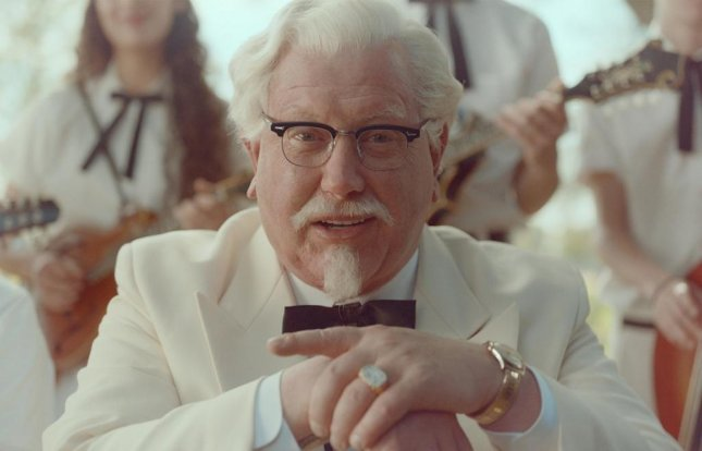 Image of Darrell Hammond as Colonel Sanders, courtesy of Kentucky Fried Chicken