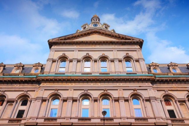 A photograph of Baltimore's City Hall. Photo by Tupungato/Shutterstock