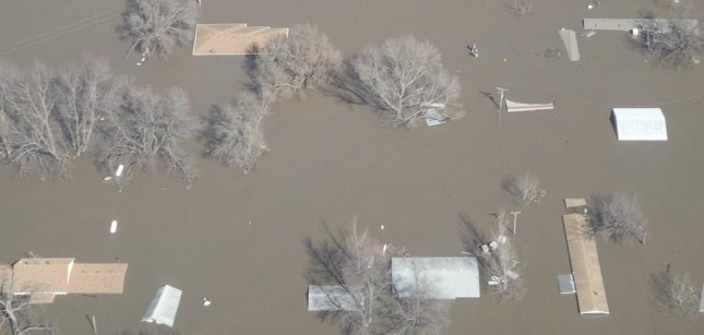 Nearly two-thirds of the lower-48 are at increased risk of flooding this spring, according to the National Weather Service. Photo courtesy of the National Weather Service
