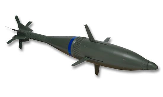 Raytheon's Precision Extended Range Munition is a smart ballistic mortar that can be guided to specific targets. Image by Raytheon.