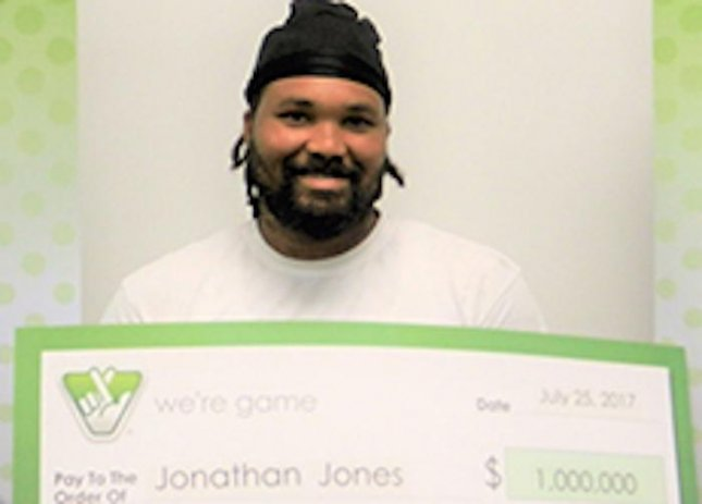 Jonathan Jones of Washington D.C. turned a trip to Busch Gardens Williamsburg in Virginia into a million-dollar vacation after purchasing a winning Powerball ticket from a Virginia convenience store. 
