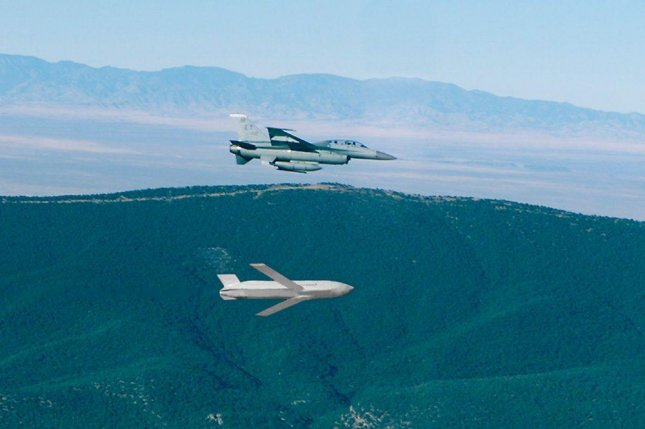 A JASSM cruise missile is deployed during a test launch. Photo by U.S. Air Force/Lockheed Martin