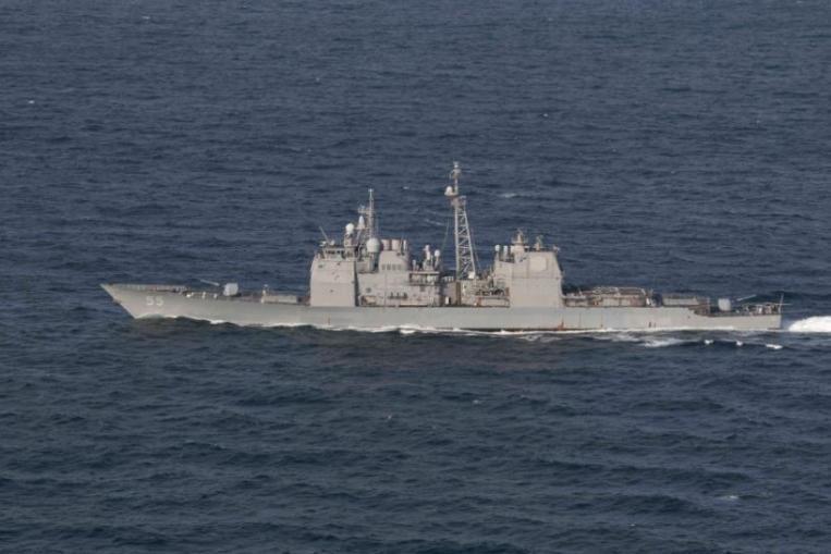 U S  Navy ships collide in Atlantic Ocean, no injuries reported