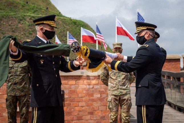 The U.S. Army on Friday held a ceremony opening the new V Corps headquarters in Poznan, Poland, five months after Poland and the United States met to establish the corps' new presence. Photo courtesy of Government of Poland