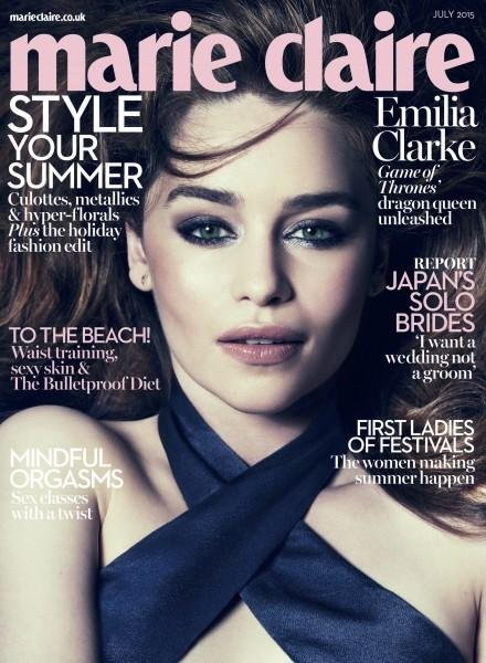 Cover of Marie Claire U.K.'s July issue
