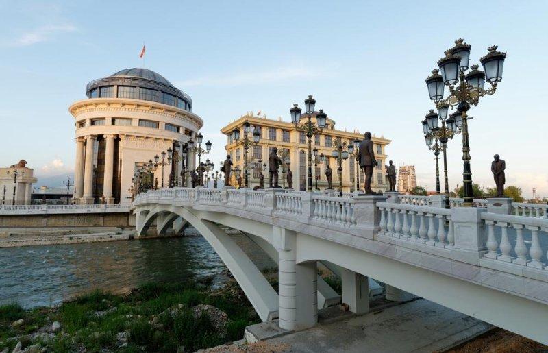 Downtown Skopje, Macedonia. Photo by Visionsi/Shutterstock