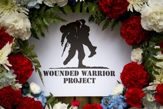 A Wounded Warrior Project wreath at the Eternal Light Monument in Madison Square Park on Veterans Day, 2015. WWP fired its top two executives, CEO and founder Steven Nardizzi and COO Al Giordano. Photo by Glynnis Jones/Shutterstock