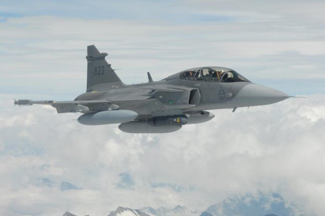 Saab received new equipment from Northrop Grumman for simulation testing of its Gripen JAS 39 multirole fighter. Photo by mashleymorgan/Flickr