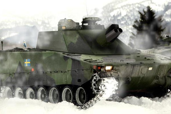 Forty Swedish army CV90 infantry fighting vehicles are to be equipped with mortar systems. Photo courtesy BAE Systems