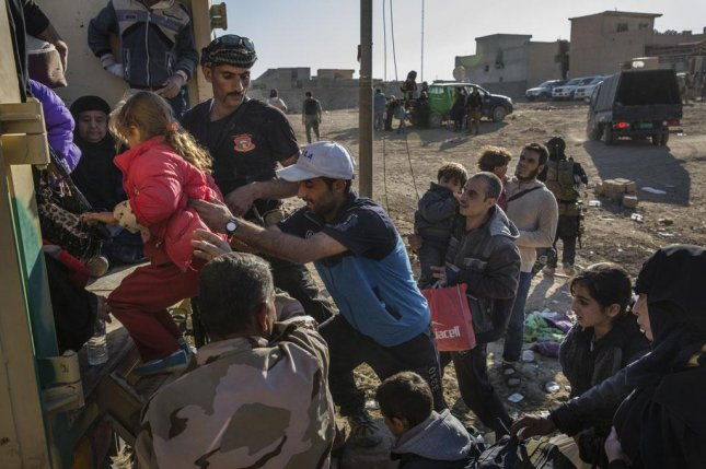 The United Nations warns that a humanitarian crisis legacy could continue in Iraq even after the Islamic State is defeated in its stronghold of Mosul. About 750,000 civilians remain in Mosul's western section. Photo by Ivor Prickett/United Nations High Commissioner for Refugees