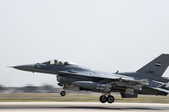 The Air Force's F-16 life extension program is expected to lengthen the potential flight time of the aircraft from 8,000 hours to 12,000 hours through a variety of upgrades. Photo by Staff Sgt. Keith James/U.S. Air Force