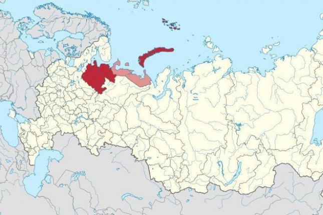 Russia's nuclear corporation Rosatom said five employees died and three were treated for burns after a nuclear-powered missile exploded in the Arkhangelsk region of northern Russia Thursday.  Map courtesy of Stasyan117/Wikimedia Commons