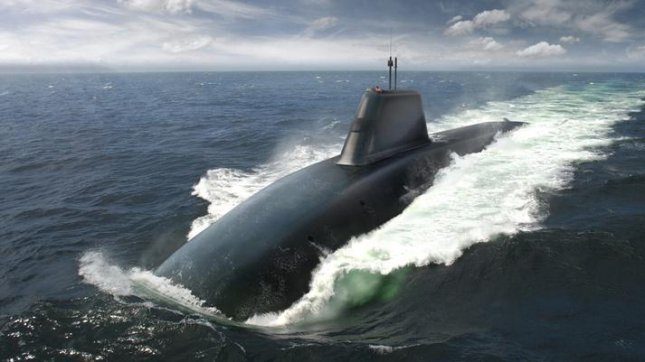 Artist's impression of the Successor submarine. Image by BAE Systems.