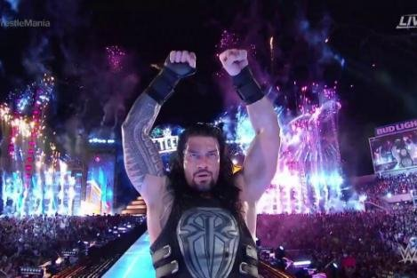 roman reigns why wwe s big dog should rule the yard upi com