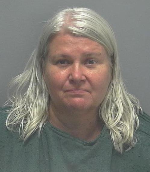Lois Riess faces a possible death sentence, accused of killing her husband and a lookalike in Florida. Prosecutors say she chose the woman because she planned on assuming her identity to evade capture. Photo courtesy Lee County Sheriff's Office  .