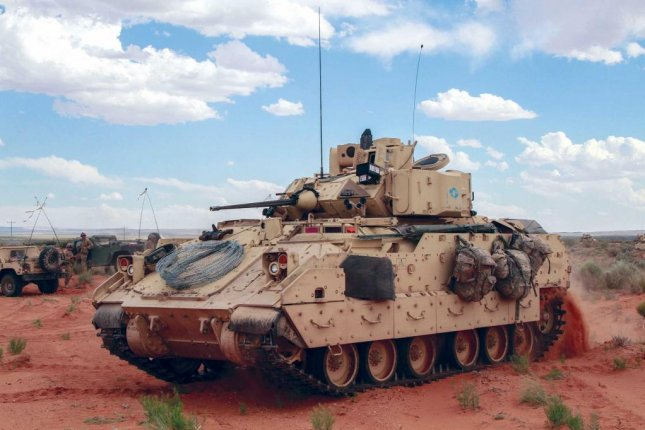 Undated photo of Bradley Fighting Vehicle similar to one involved in a deadly training accident at Fort Stewart, Ga. Sunday. Photo courtesy U.S. Army