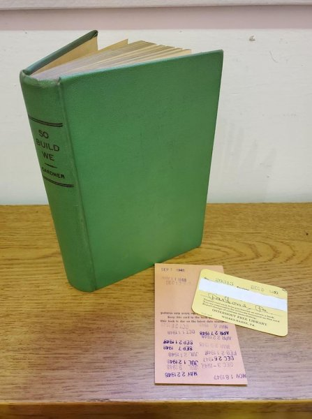 A book borrowed from a Pennsylvania library was returned 71 years later by a woman who found it while cleaning out her late spouse's homestead. Photo courtesy of the Osterhout Public Library