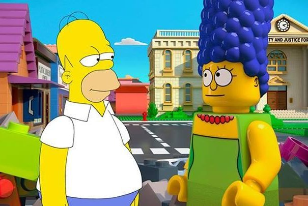Official promotional photo for the upcoming LEGO-themed episode of The Simpsons on FOX. (The Simpsons)