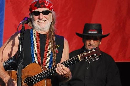 Paul English, the longtime drummer for Willie Nelson, died at the age of 87 on Tuesday. Photo courtesy Bob Tilden/Flikr