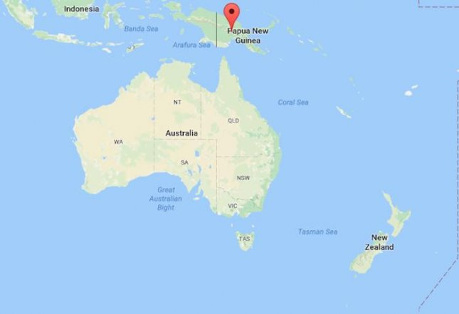 Map Of Australia New Zealand And Papua New Guinea.Tsunami Warnings Issued After Earthquake Strikes Off Papua New