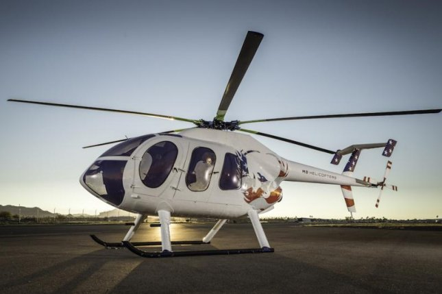 MD Helicopters debuted the 6XX concept helicopter, pictured, at last week's HAI Heli-Expo Trade Show & Exhibition in Texas. Photo courtesy of MD Helicopters.