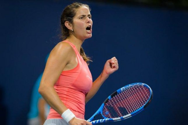 World No.18 tennis player Julia Goerges has announced via social media that she has appointed a new coach, ending her working relationship with Michael Geserer. Photo via Twitter/JuleGoerges