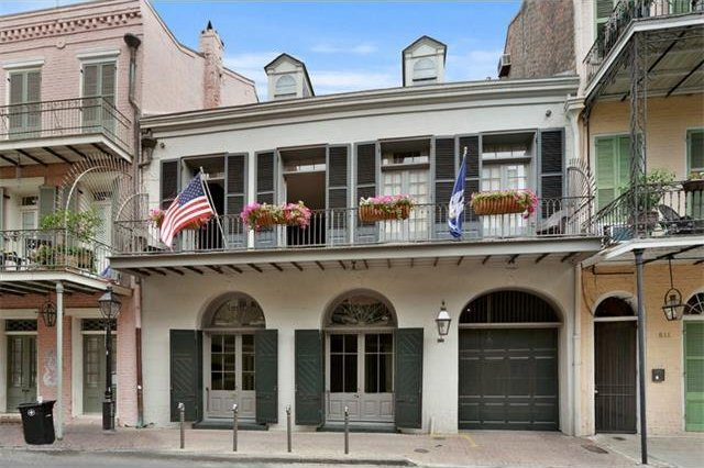 Angelina Jolie and husband Brad Pitt are selling their New Orleans home for $6.5 million. Photo by Latter & Blum Inc. Realtors