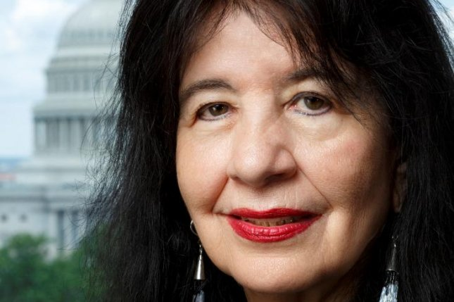 Joy Harjo was named the 23rd poet laureate of the United States on Wednesday. Photo by Shawn Miller/Library of Congress