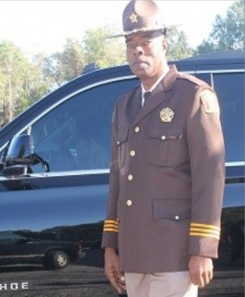 John Williams was sheriff in Lowndes County, Ala., since 2010. Photo courtesy Lowndes County Sheriff's Office