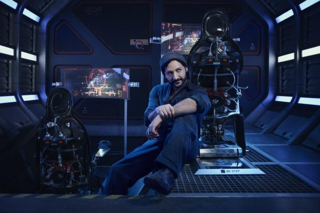 Cas Anvar in a scene from The Expanse. The show has been renewed for a fourth season on Amazon after Syfy canceled it. Photo by Jason Bell/Syfy