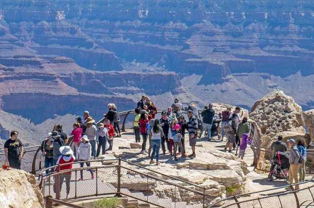 A 59-year-old Arizona woman fell to her death in the Grand Canyon Friday. Photo courtesy of the National Park Service