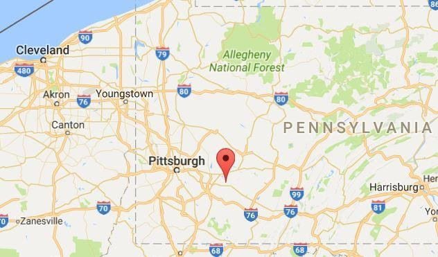 Latrobe, Pa., plane crash injures one person - UPI.com on map of coal center pa, map of madison pa, map of york pa, map of castanea pa, map of berkshire pa, map of ford city pa, map of webster pa, map of avella pa, map of norwich pa, map of washington pa, map of ambler pa, map of chalk hill pa, map of avis pa, map of new bloomfield pa, map of scotland pa, map of new alexandria pa, map of cardiff pa, map of armagh pa, map of drifton pa, map of ford cliff pa,