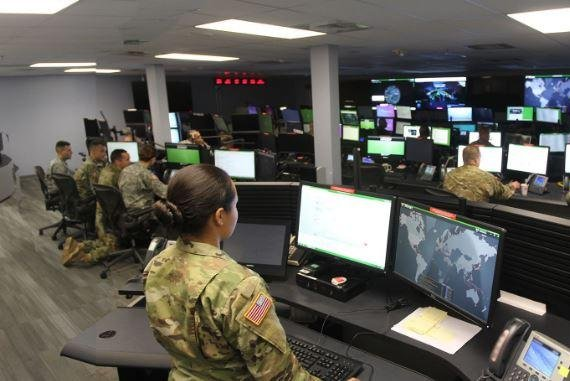 Raytheon Co. announced a $110 million contract on Monday to build a cybersecurity operations command center for an unspecified country in the Middle East North Africa region. Photo courtesy of U.S. Army