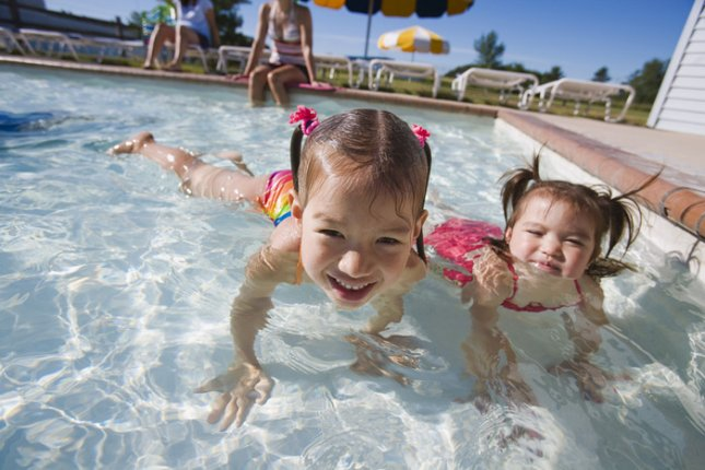 Following a study that found almost 60 percent of U.S. public pools contained fecal contaminated, heath officials warn swimmers to not swallow the water in which they swim. CDC photo.